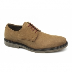 NAIRN Mens Suede Leather Desert Shoes Tan