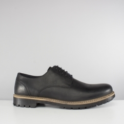Red Tape RISLEY Mens Leather Derby Shoes Black