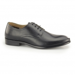 Red Tape SILWOOD Mens Leather Smart Derby Shoes Black