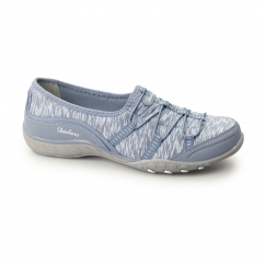 RELAXED FIT: BREATHE EASY-GOLDEN Ladies Slip-On Trainers Blue