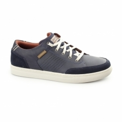 RELAXED FIT: ELVINO - LEMEN Mens Casual Trainers Navy