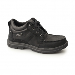 RELAXED FIT: SEGMENT-MELEGO Mens Waterproof Casual Shoes Black