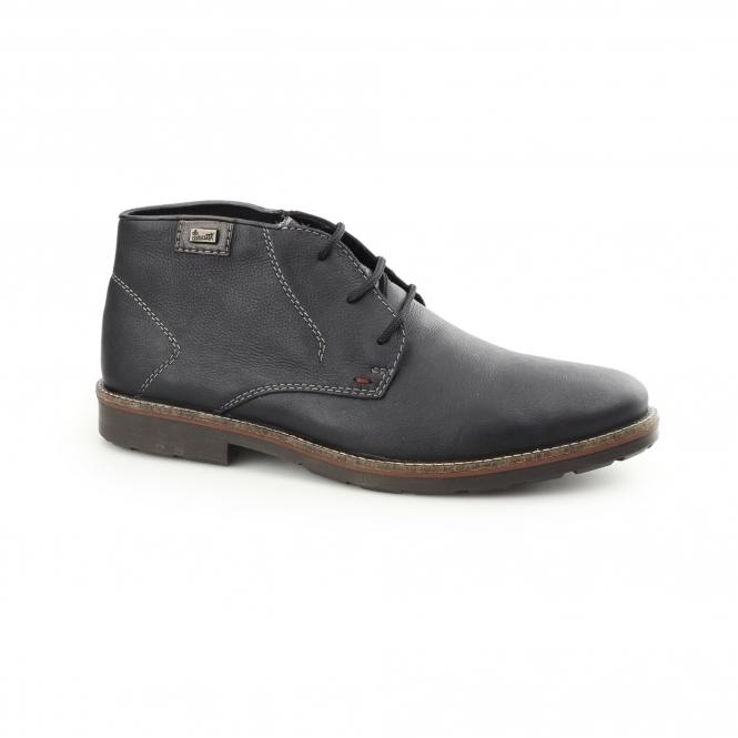 rieker 35310 10 tex mens leather lambswool desert boots