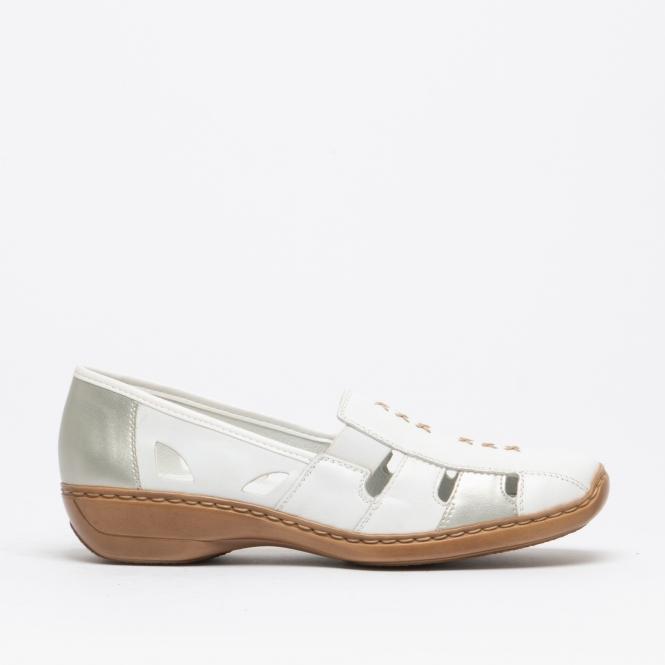 Ladies Rieker Slip On Shoes 41385