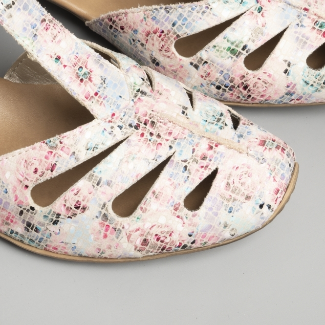 Rieker , Damen Pumps Pink NudeMulti: : Schuhe