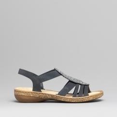 6c4ad99b03f57 628G6-14 Ladies Slip On Sandals Pacific
