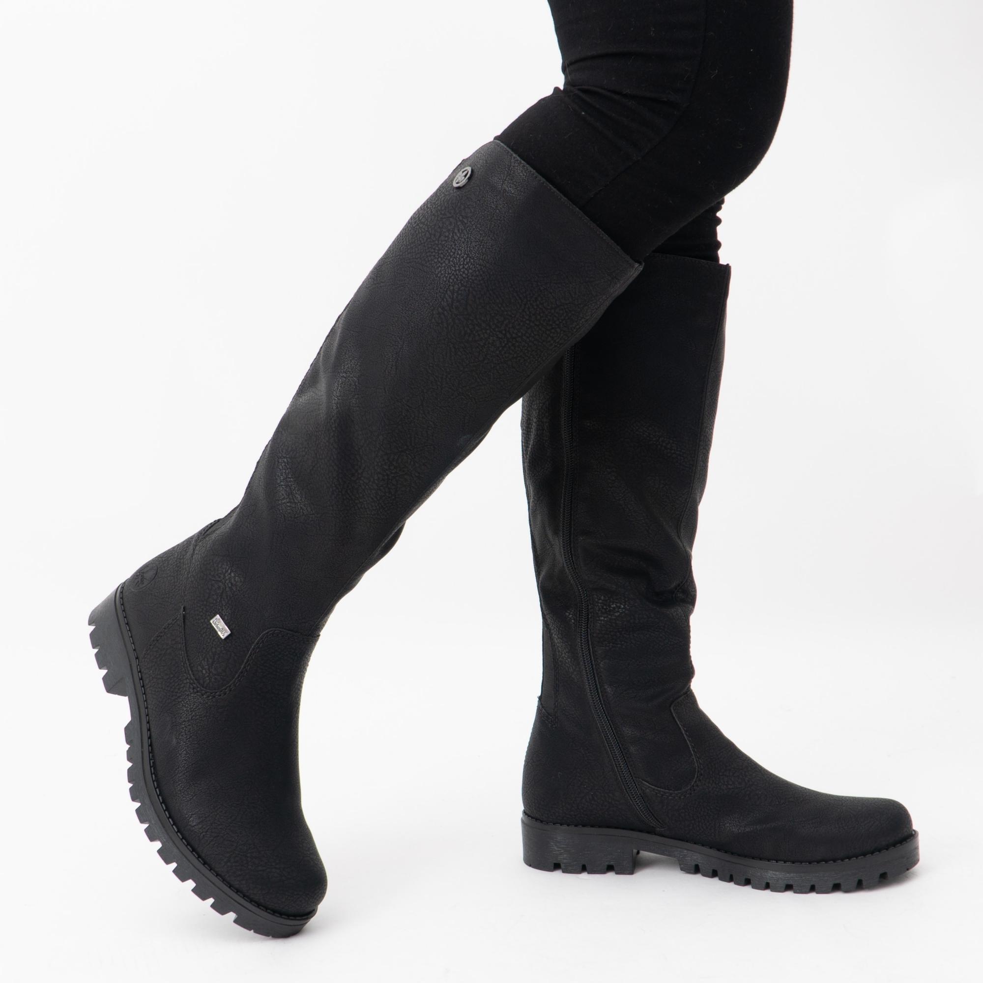 noir Rieker Chaussures Bottes 78554-00 noir NEUF