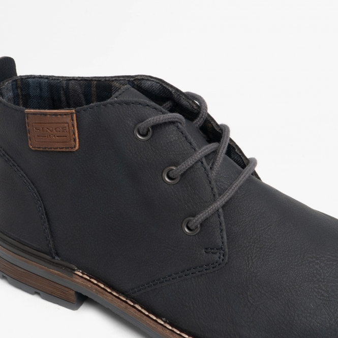 B1340 14 Mens Lace Ankle Boots Ocean