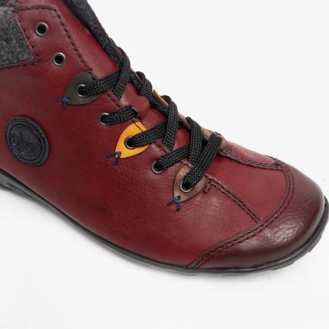 neue niedrigere Preise neue Liste attraktive Designs L6513-35 Ladies Casual Ankle Boots Wine/Multi