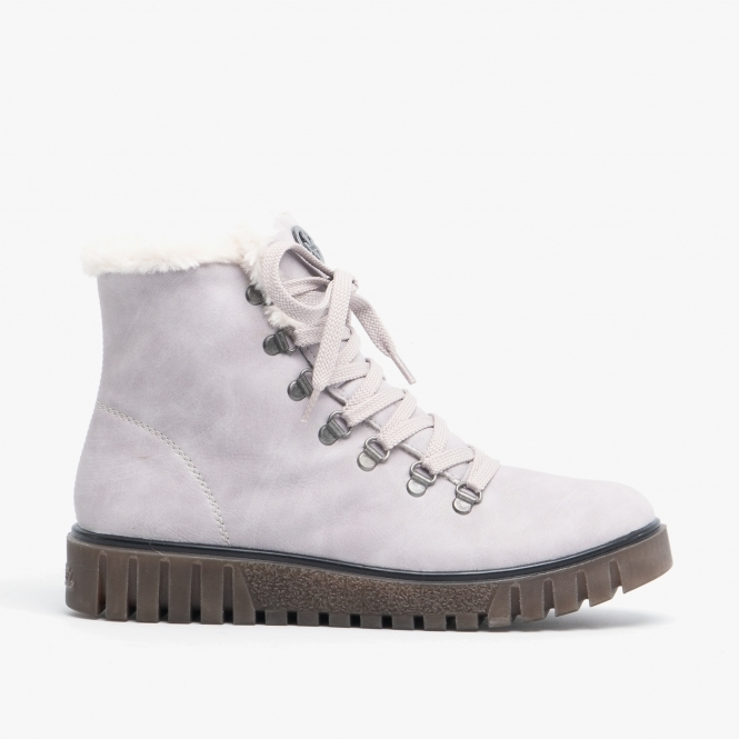 thoughts on hot sales great fit Y3432-40 Ladies Wedge Heel Hiker Boots Fog