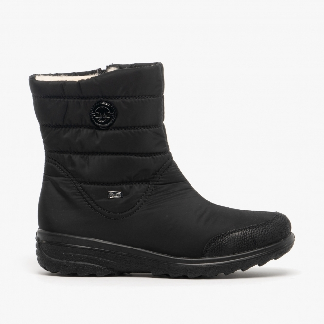 Rieker Z7082-00 Ladies Wide Fit Ankle