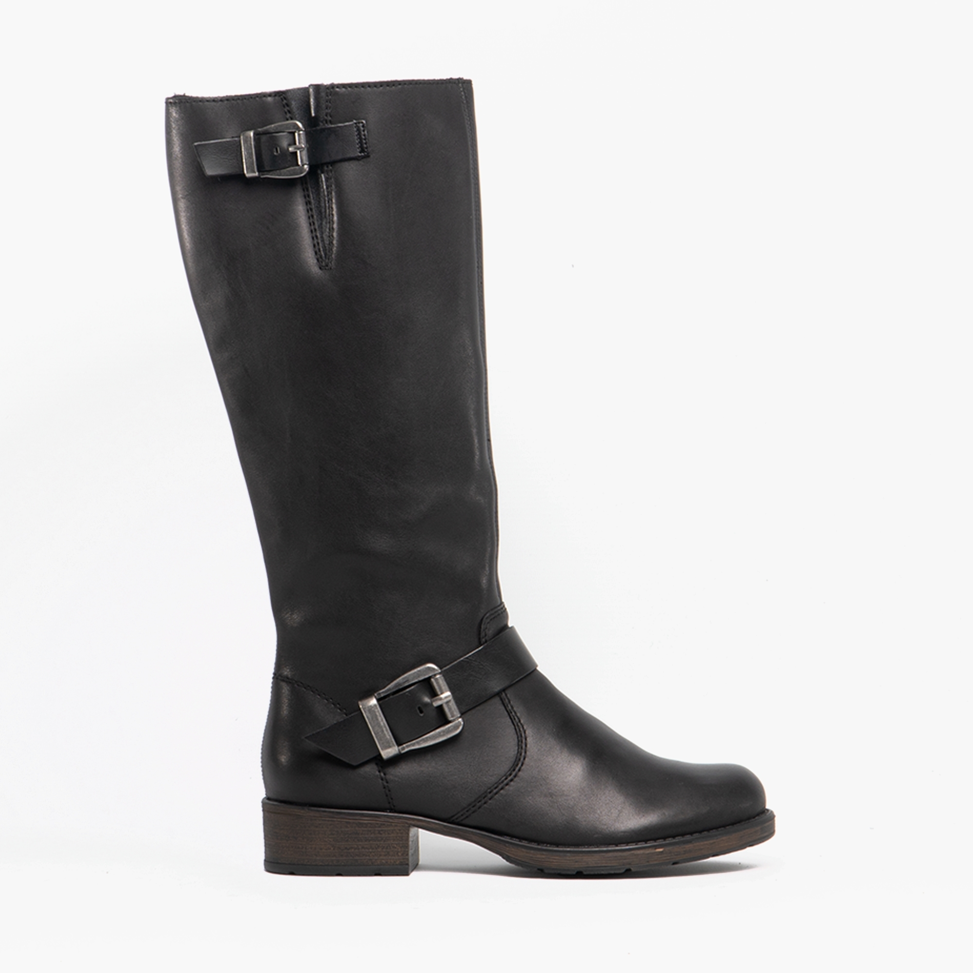 cheapest price latest selection top-rated discount Rieker Z9580-00 Ladies Leather Tall Riding Boots Black