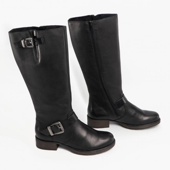 suche nach original Junge suche nach authentisch Z9580-00 Ladies Leather Tall Riding Boots Black