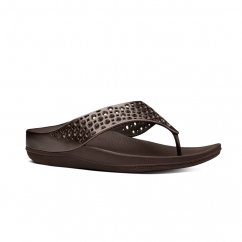 RINGER WELLJELLY™ Ladies Rubber Toe Post Sandals Bronze