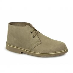ORIGINAL Unisex Suede Leather Desert Boots Stone