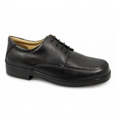 PETER Mens Lace-up Light XXX Extra Wide Shoes Black
