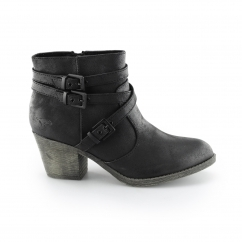 SEON Ladies Ankle Boots Black