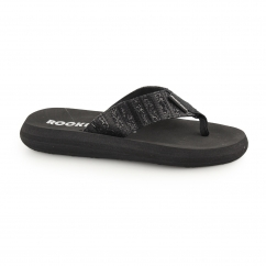 Rocket Dog SPOTLIGHT - SUNRISE Ladies Flip Flops Black
