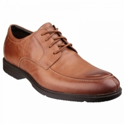 CITY SMART ALGONQUIN Mens Leather Lace Shoes Tan