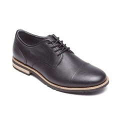 LEDGE HILL 2 CAP OXFORD Mens Leather Shoes Black