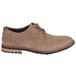 LEDGE HILL 2 PLAIN OXFORD Mens Leather Shoes Vicuna