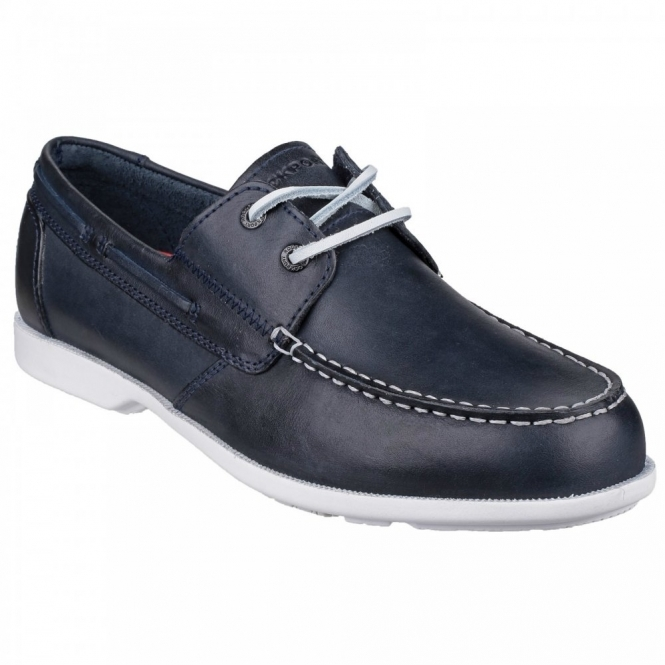 Rockport SUMMER SEA 2 EYE Mens Boat Shoes Navy