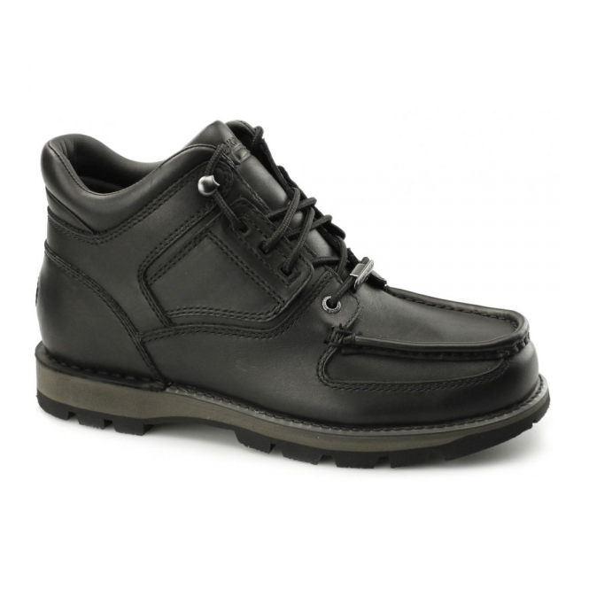 Rockport UMBWE TRAIL WP Mens Leather Trail Boots Black