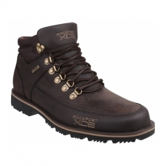 XCS MUDGUARD Mens Water Resistant Boots Brown