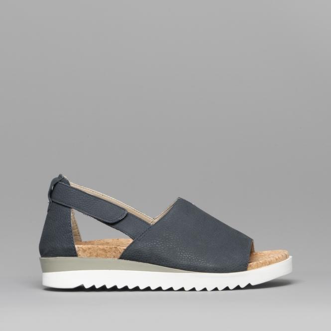 4fae7dc8daad7 Romika HOLLYWOOD 14 Ladies Leather Elasticated Sandals Ocean