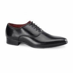 MIRANO Mens Faux Leather Smart Shoes Black