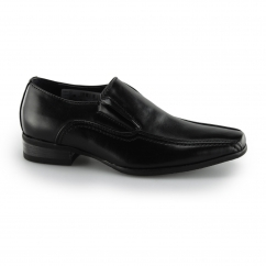 BARRETT Boys Slip On School Loafers Black