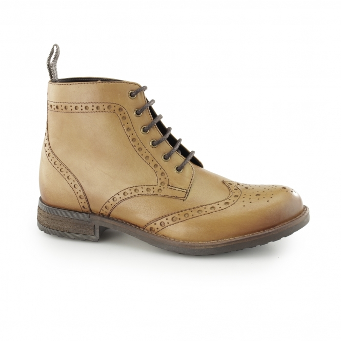 Catesby Shoemakers ROXTON Mens Derby Boots Tan