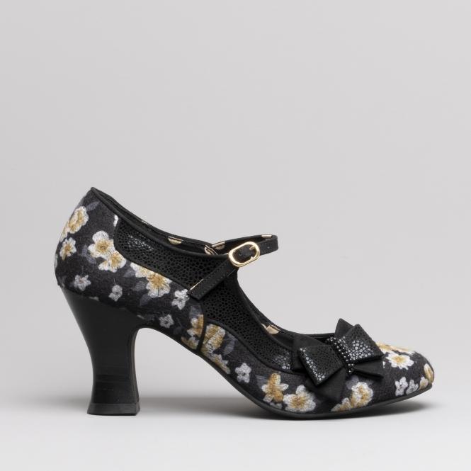 Ruby Shoo CAMILLA Ladies High Heel Shoes Black  3ad41e1b6e8d