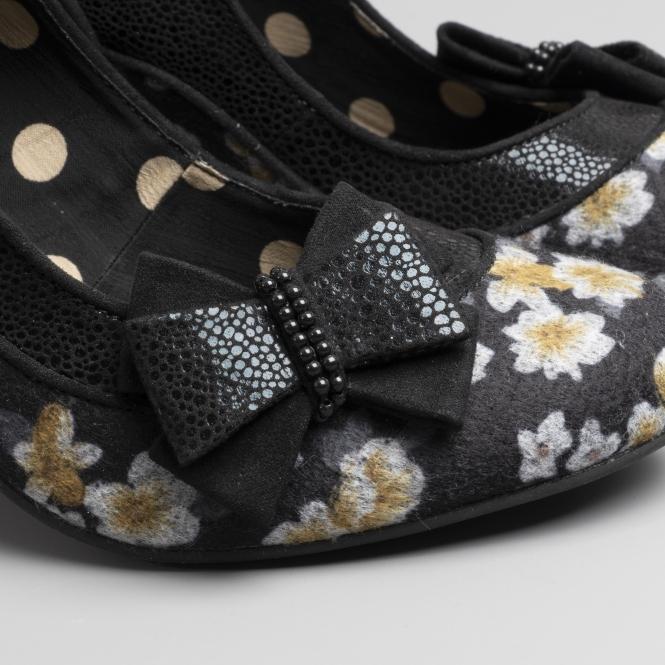 fe186ee0 Ruby Shoo CAMILLA Ladies High Heel Shoes Black   Buy Online At Shuperb