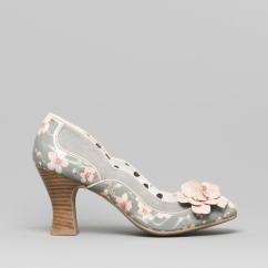 c662752ed32 Ruby Shoo VIOLA Ladies Block Heel Shoes Sage