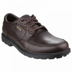 RUGGED BUCKS Mens Waterproof Shoes Brown
