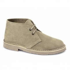 SAHARA Mens Suede Leather Desert Boots Sand