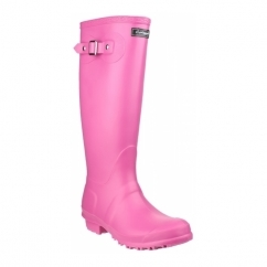 SANDRINGHAM Ladies Tall Wellington Boots Fuchsia