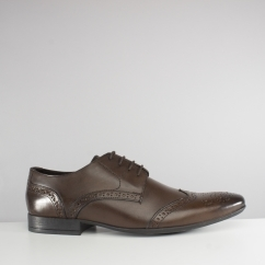 Catesby Shoemakers SAWLEY Mens Leather Brogue Shoes Brown