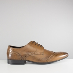 Catesby Shoemakers SAWLEY Mens Leather Brogue Shoes Tan Brown