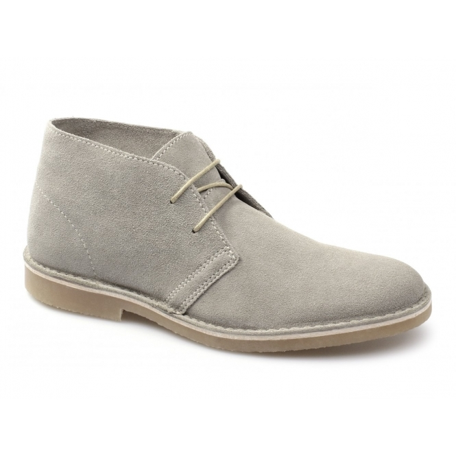 Selected SEL SHLEON H Mens Suede Desert Boots Sand