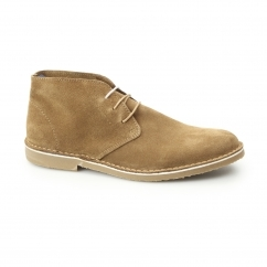 Selected SHHROYCE Mens Suede Desert Boots Burro