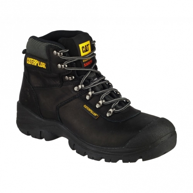 Cat ® SHELTER Mens Water Resistant Safety Boots Black