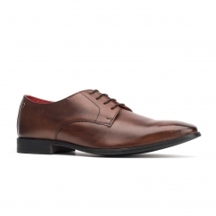 Base London SHILLING Mens Leather Shoes Brown