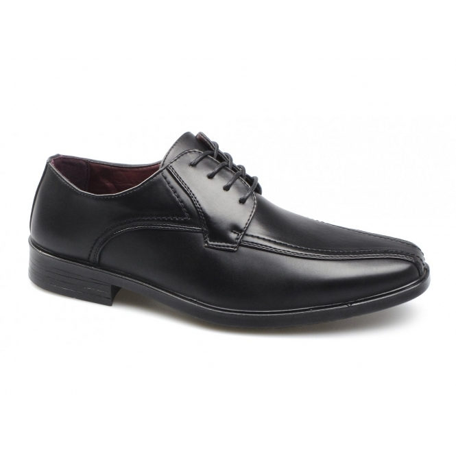 Shoe Avenue CALLUM Mens Lace-Up Shoes Black