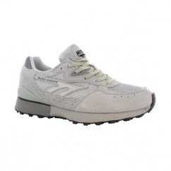 SILVER SHADOW II Mens Running Trainers Silver/Grey