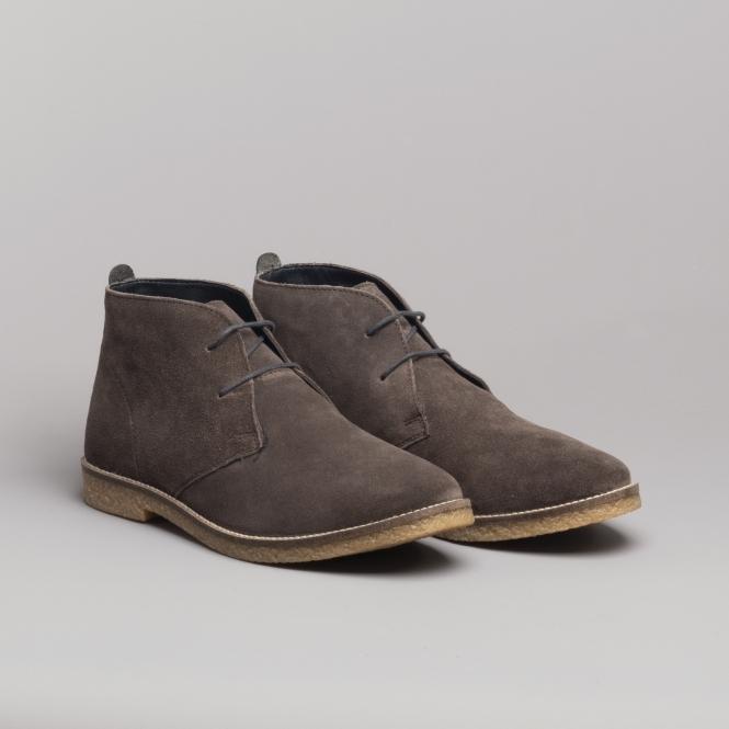 Goor Mens 3 Eye Synthetic Nubuck Desert Boots