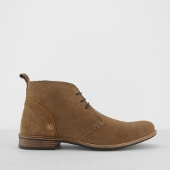 Silver Street London YORK Mens Suede Chukka Boots Tan