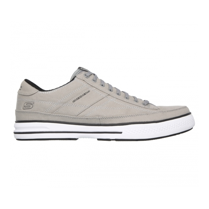 Shoes Arcade Up Chat Lace Memory Grey Canvas Mens yOmwN0v8n