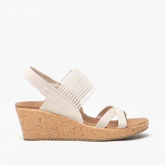 HIGH TEA Ladies Wedge Heel Sandals